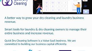 Dry Cleaning Point Of Sale Systems