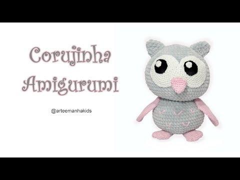 Amigrumi Coruja - 10 Ideias de Receitas [INSPIRAÇÃO] - YouTube   360x480