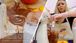 Is Nadine Coyle the messiest baker ever? | The Great Stand Up To Cancer Bake Off
