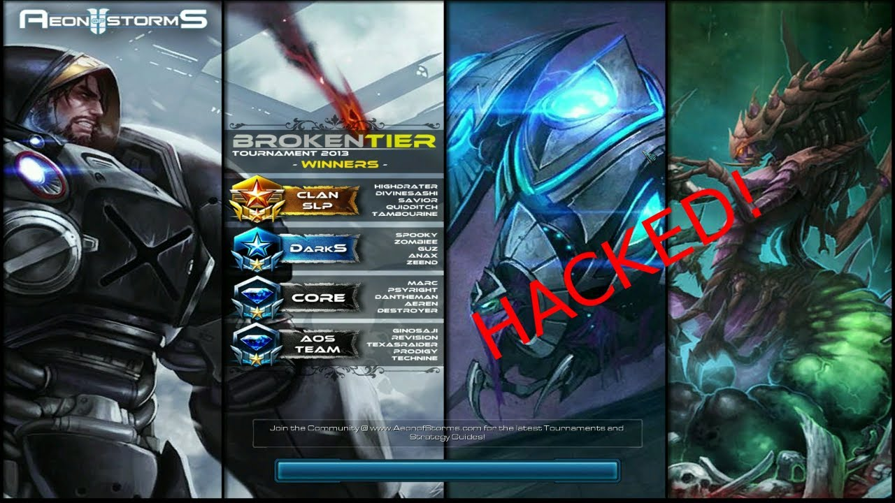 StarCraft 2 Aeon of Storms Hack video tutorial ENG-ITA