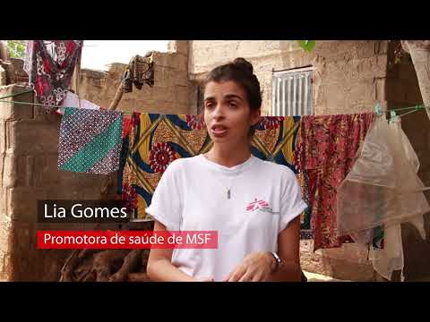 Promoção de saúde em Maiduguri, Nigéria, com Lia Gomes