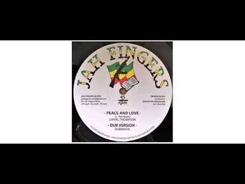 """Linval Thompson / Horace Andy - Peace And Love / It's A Clash - 12"""" - Jah Fingers Music"""