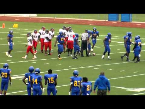 Pershing and North Western 2015 Football