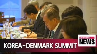 1021 Pres. Moon agrees with Danish PM to strengthen ties amid 4th Industrial Revolution