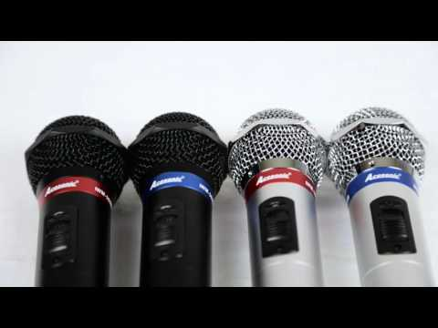 Acesonic IWM-360B & Acesonic IWM-360S Dual Infrared Wireless Microphone System