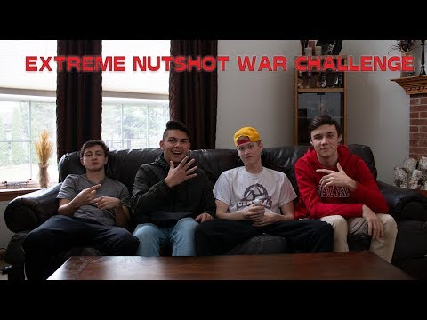 EXTREME NUTSHOT WAR CHALLENGE (First Ever)