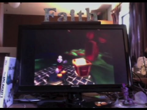 PixarShark Plays Epic Mickey - Part 2: THIS GAME IS SO COOL!!