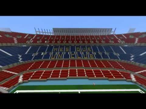 Minecraft - Camp Nou Barcelona + Download