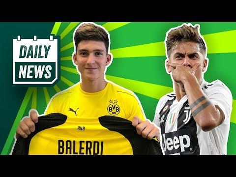 BVB: Balerdi-Transfer offiziell! Morata zum FC Bayern, Piatek zu Milan? Kuba rettet Wisla Krakau!