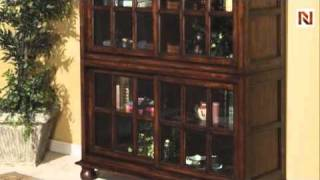 Stacking Bookcase Stacker - Bassett Mirror Company, Hunt Country Collection -t1017-573c