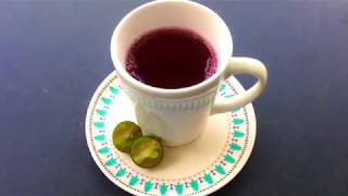 DIY Healthy Drinks | Roselle Juice | Super Easy & Healthy Recipe