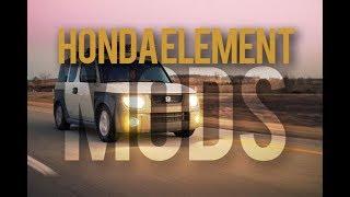 The Best Custom Modified Honda Element   Inspiration Goals & Mods