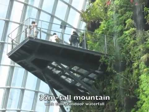 Garden By The Bay Cloud Forest cloud forest @ gardensthe bay, singapore - youtube