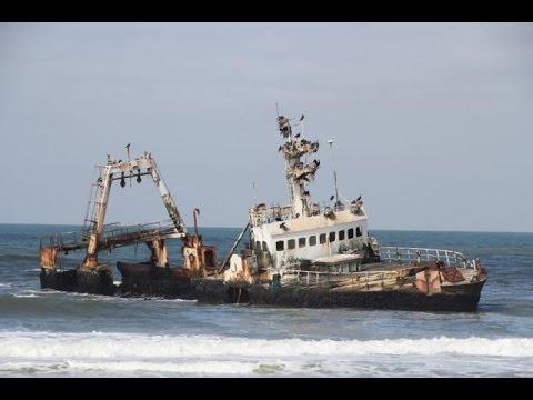 Shipwreck Zeila of Hangana - Skeleton Coast - Namibia