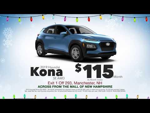 2019 Hyundai Kona Lease - December 2018