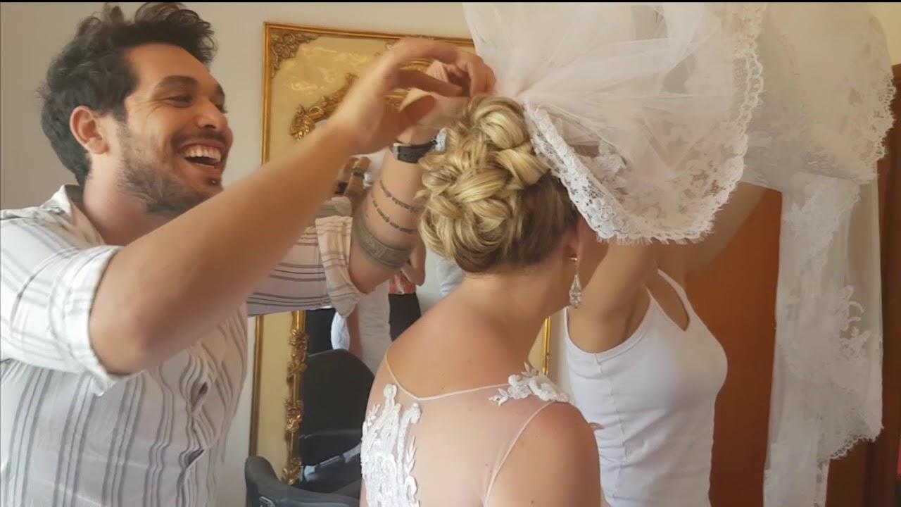 Aprenda Agora A Colocar O Véu No Penteado Da Noiva