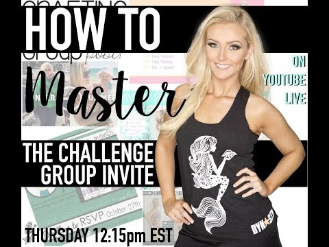 How To: Master the Challenge Group Invite