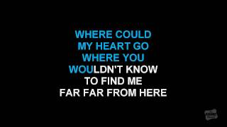 Everywhere I Go in the style of Amy Grant karaoke version with lyrics