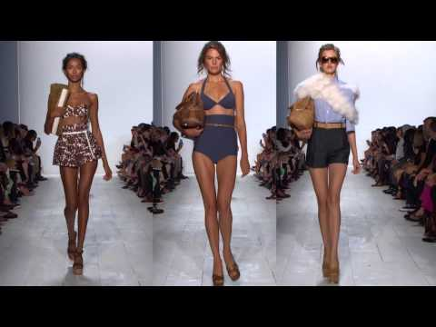 Michael Kors on His Spring 2014 Collection