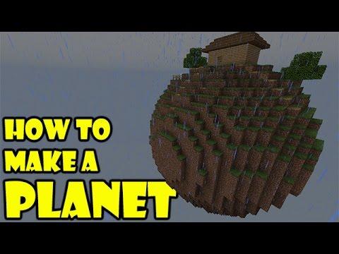 How to Make a Planet   Minecraft PE   #pinoyyoutubersrule ...  How to Make a P...