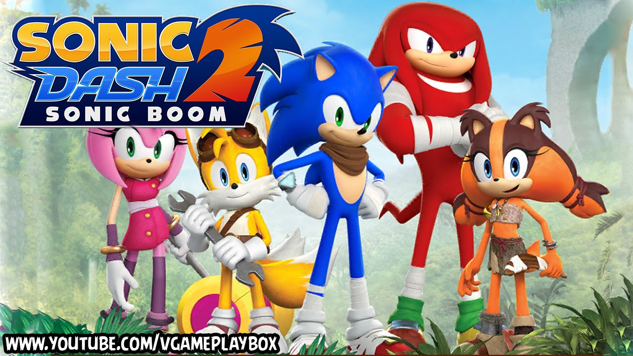 Sonic Dash 2: Sonic Boom (By SEGA) IOS / Android Gameplay