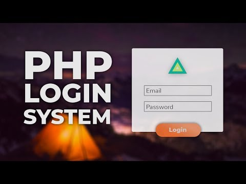 Login System Tutorial with PHP and MYSQL Database