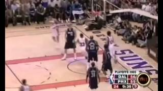 Steve Nash 23 Pts , 13 Ast Phoenix Suns vs Dallas Mavericks 2005 Western Conference Semifinals