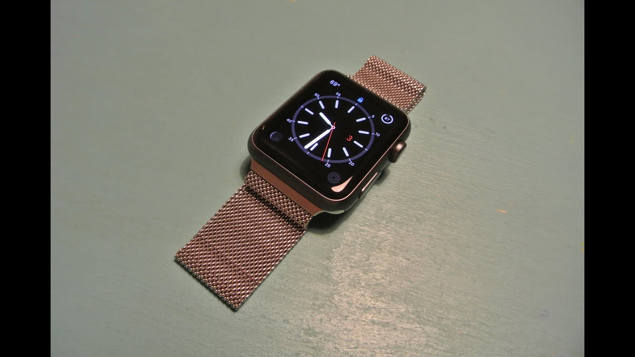 all community watches looks apple milanese what like w watch band it s gold loop disgusting