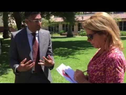 Lizbeth's immigration law professor, KQED interview