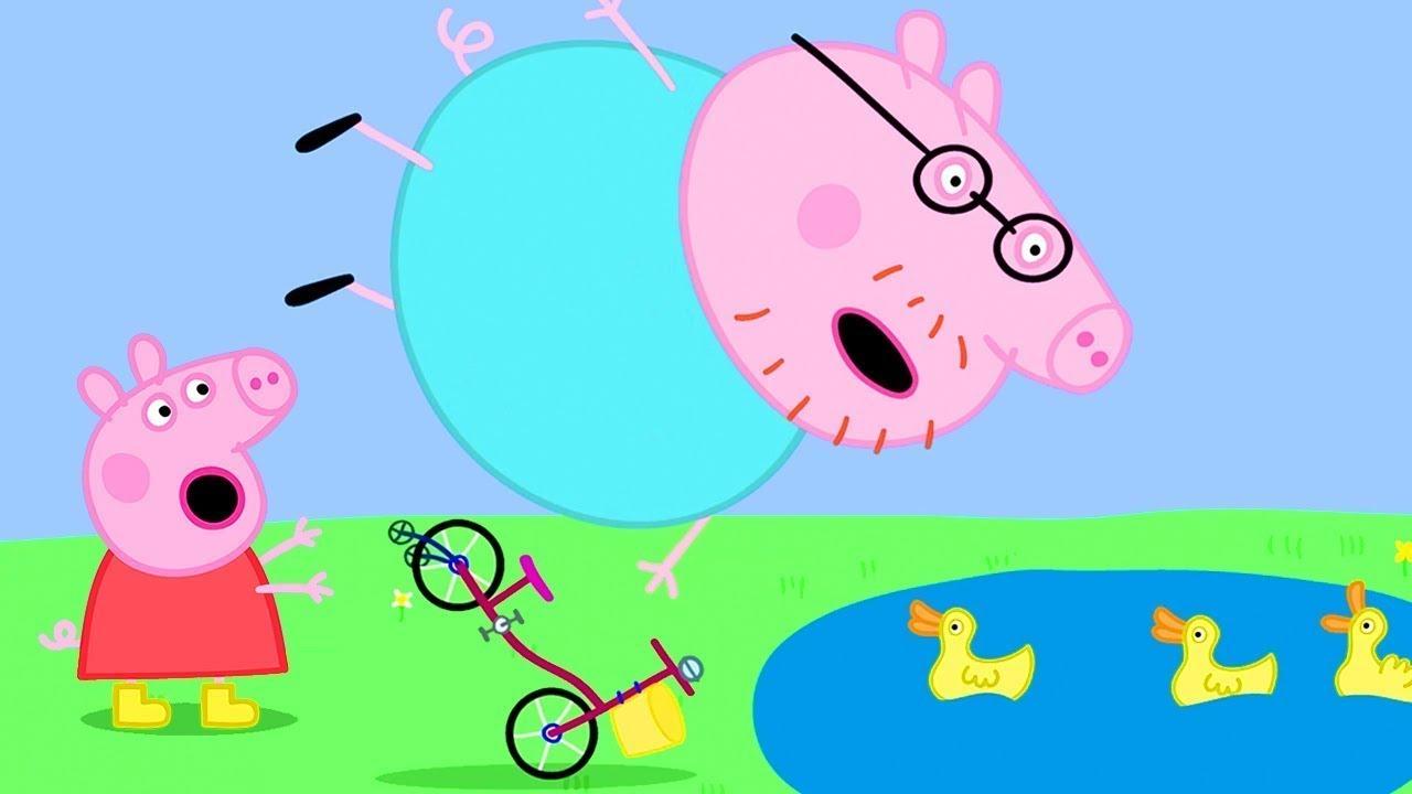 Peppa Pig in Hindi - Daddy Pig Kasrat Kar Rahe Hai - हिंदी Kahaniya - Hindi Cartoons for Kids