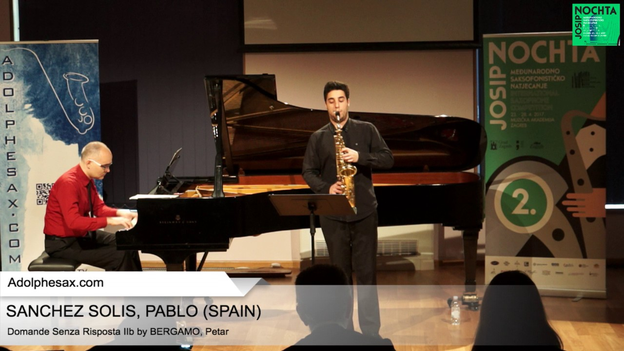 Domande senza risposta IIb by Petar Bergamo – SANCHEZ SOLIS, Pablo (Spain)