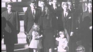 John John Salutes the Coffin of His Father