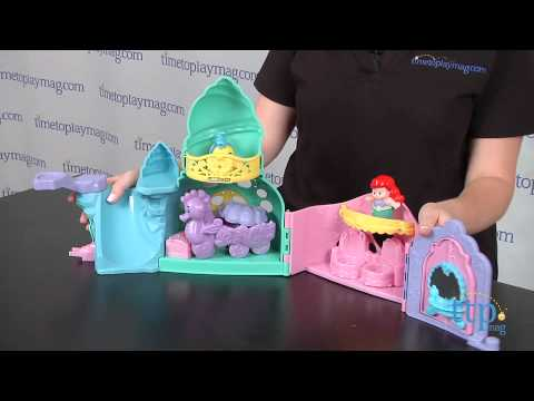 Little People Disney Princess Ariel's Castle From Fisher-Price