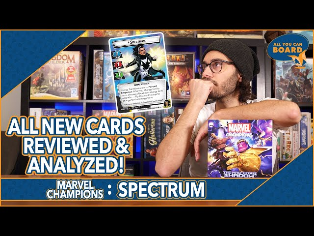 Spectrum Hero   Marvel Champions   All NEW Cards REVIEWED & ANALYZED! (5 NEW ALLIES!)