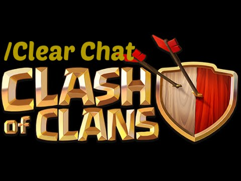 FASTEST WAY TO CLEAR THE CHAT IN CLASH OF CLANS(FOR IOS)