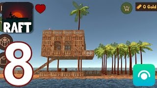 Raft Survival Simulator - Gameplay Walkthrough Part 8 (iOS, Android)