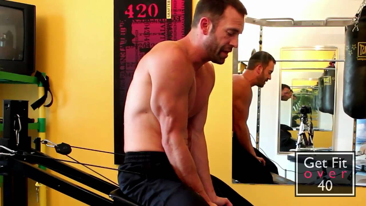 Total gym upper body workout overview part chest and back