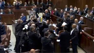 Arab lawmakers ejected from Knesset while protesting Pence speech