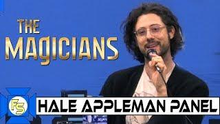 The Magicians' HALE APPLEMAN Panel – Wizard World Philadelphia 2019