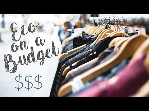 AFFORDABLE SUSTAINABLE FASHION | Conscious Shopping on a Budget