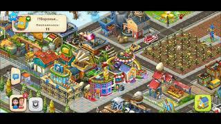 ТАУНШИП город и ферма #559  Знакомство с моим городом  Игровое видео