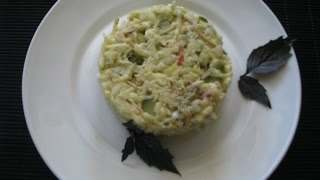 Салат из яблок по-польски//Onion salad