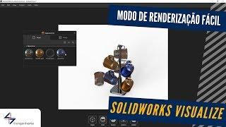 Modo de Renderização Fácil com SOLIDWORKS Visualize – 4i Engenharia