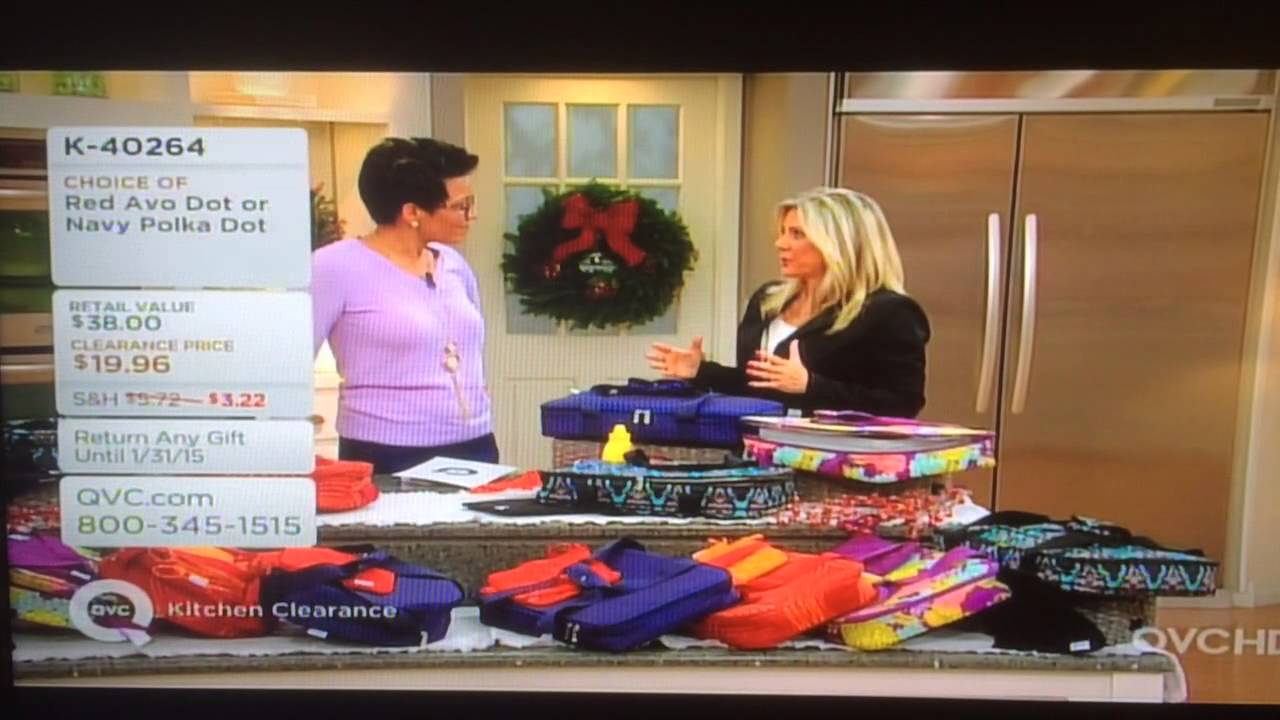 Connie Willis with Blue Avocado on QVC