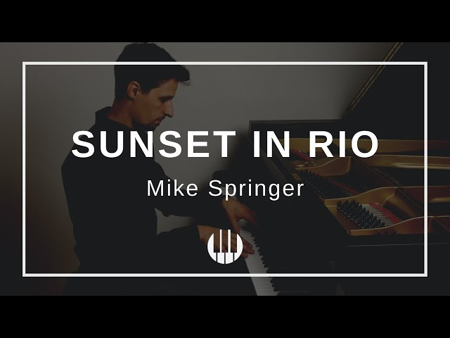 Sunset in Rio by Mike Springer
