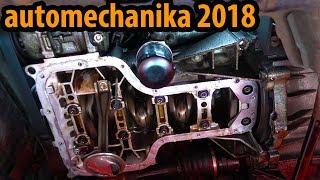 Atomium - Motor läuft ohne ÖL auf der automechanika 2018