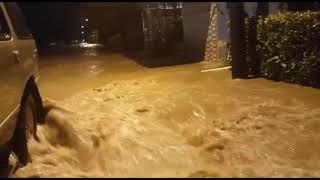 Inundaciones río Zapote, Upala