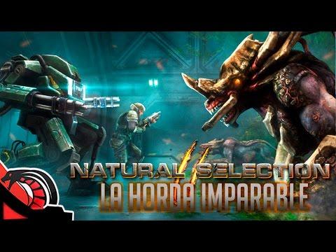 LA HORDA IMPARABLE | Natural Selection 2 - Shooter Tactico - C/ Zellen, Eruby, Lobo y Gublin