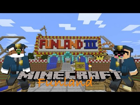 Detective Donut and Commander Coffee -Minecraft FunLand 3 Map