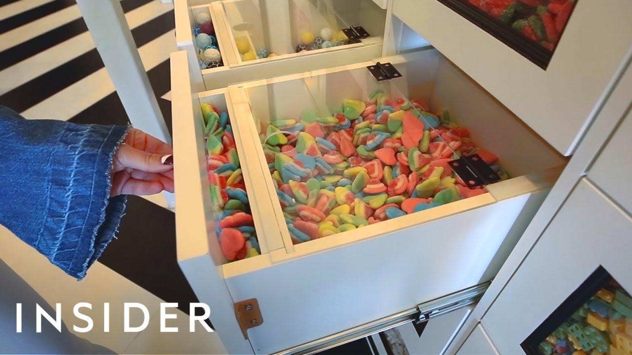 Продавница од соништата - 160 фиоки преполни со слатки